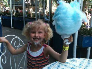 Mille med candy floss 2
