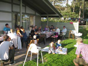 Sommerhygge med familien i Gilleleje